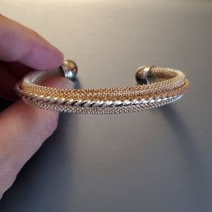 Cable wire bangle